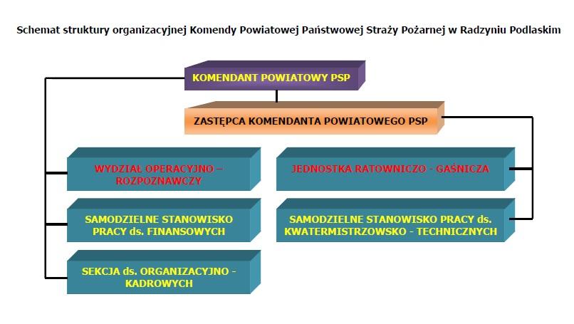 Struktura organizacyjna kppsp