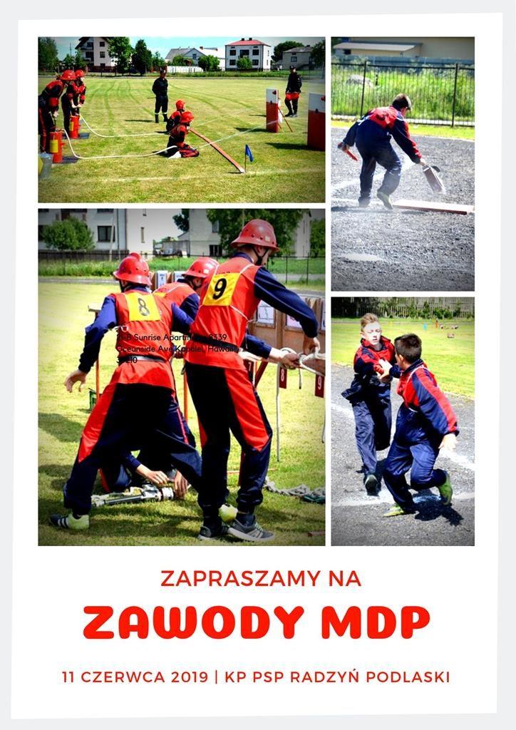 Powiatowe Zawody Sportowo-Pożarnicze Młodzieżowych Drużyn Pożarniczych